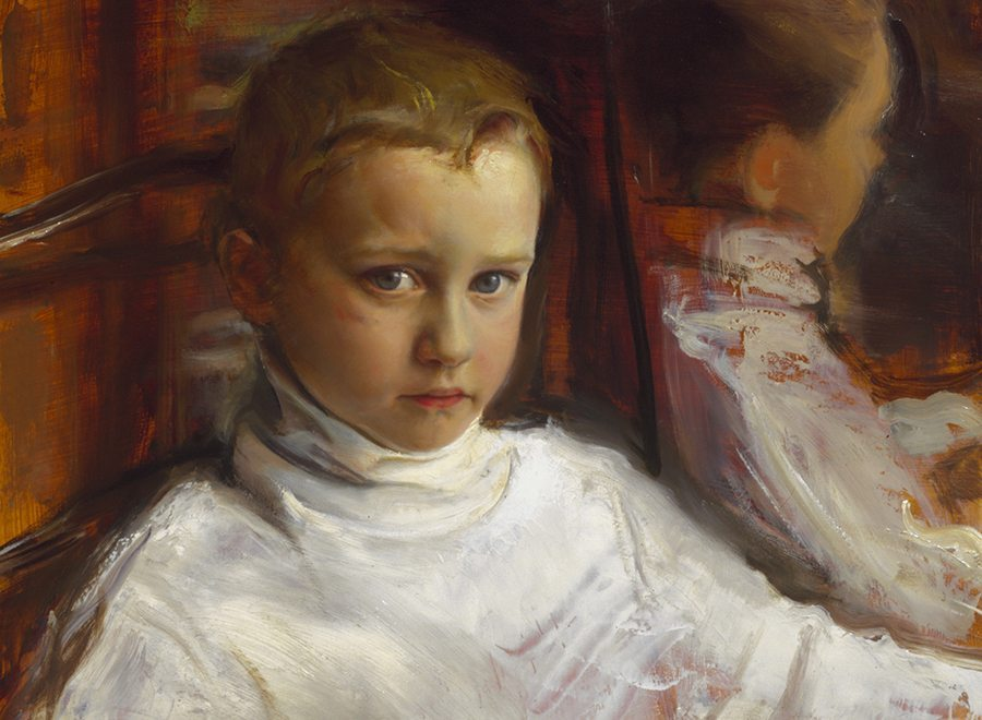 The Portrait of Alex by Ronald Sherr