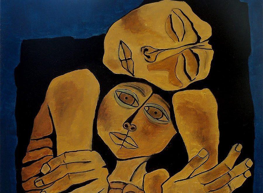 Oswaldo Guayasamín's Tenderness