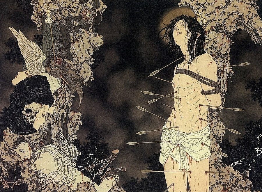 Takato Yamamoto is a Japanese contemporary artist whose influences include  traditional Japanese art and the European Renaissance. He explores sex,  death, ...