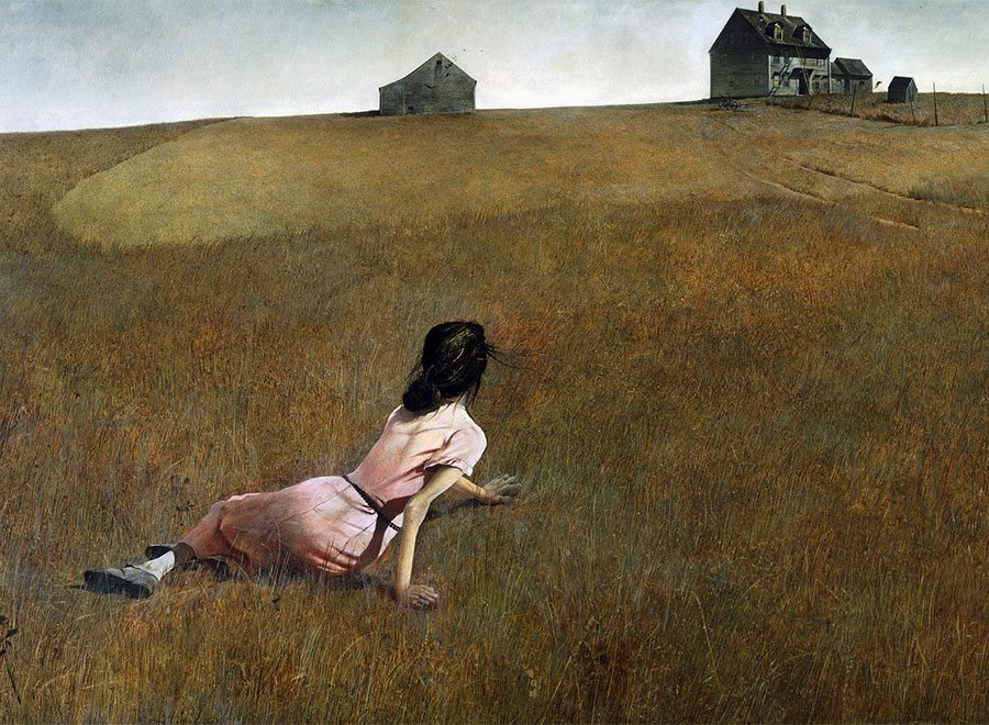 Christina's Prison by Andrew Wyeth